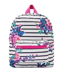 joules-girls-stripe-rubber-rucksack