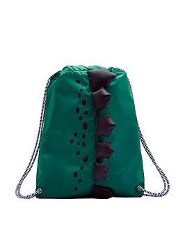 Joules Boys Dinosaur Drawstring Bag