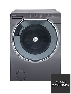 Hoover Axi AWDPD6106LHR110kg Wash, 6kgDry, 1600 Spin Washer Dryer with AI technology - Graphite