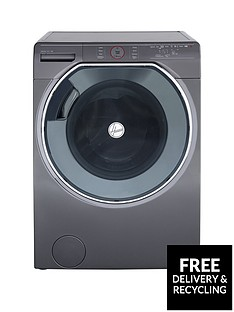 Hoover Axi AWDPD 4138LHR1 13kg Wash, 8kg Dry 1400 Spin Washer Dryer with AI technology - Graphite