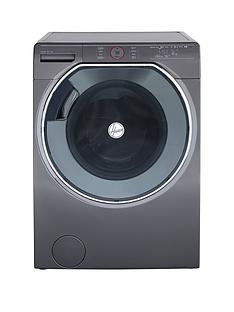 Hoover Axi AWMPD610LH8R 10kg Load, 1600 Spin Washing Machine - Graphite/Black