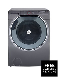 Hoover Axi AWMPD610LH8R10kgLoad, 1600 Spin Washing Machine with AI technology - Graphite/Black
