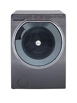 Hoover Axi Awmpd610Lh8R 10Kg Load, 1600 Spin Washing Machine With Ai Technology - Graphite/Black