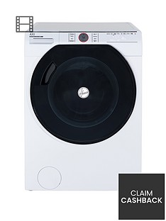 Hoover Axi AWMPD413LH7 13kg Load,1400 Spin Washing Machine with AI technology - White/Tinted
