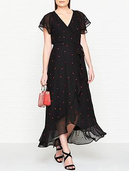 whistles-heart-embroidered-maxi-dress-black