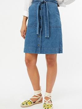 monsoon-bella-belted-denim-skirt