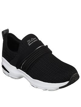 Skechers D'Lite Ultra Semi-Precious Trainer - Black