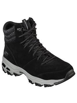 Skechers D'Lites Ankle Boot - Black