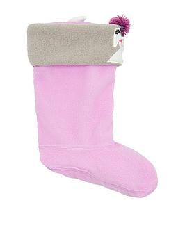 joules-girls-dog-welly-socks-lilac