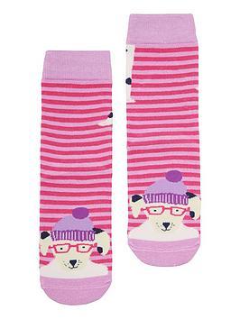 joules-girls-dalmatiannbspneat-feet-socks-pink