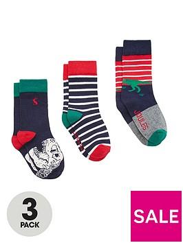 joules-boys-3pk-dinosaur-bamboo-socks