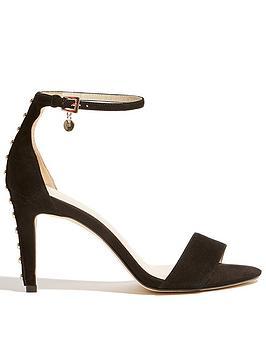 karen-millen-studded-heeled-sandalsnbsp--black