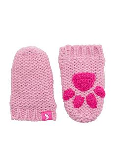 joules-baby-girl-paw-mittens-pink