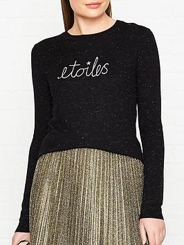 whistles-etoiles-annie-sparkle-jumper-black