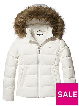 tommy-hilfiger-girls-padded-down-jacket-white