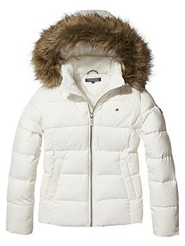 tommy-hilfiger-girls-padded-down-jacket