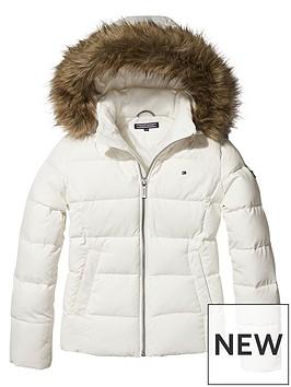 tommy-hilfiger-girls-padded-down-jacket