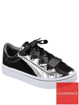 skechers-hi-lites-liquid-bling-plimsoll-pewter