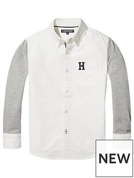 tommy-hilfiger-boys-oxford-mixed-shirt