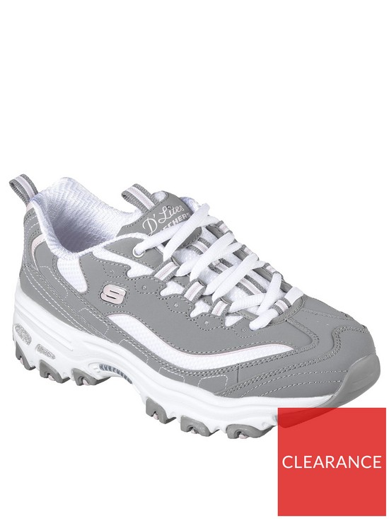 d07168bedc5 Skechers D lites Biggest Fan Trainer - Grey