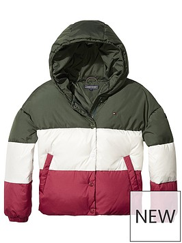 tommy-hilfiger-girls-colourblock-padded-coat