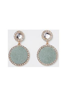 river-island-river-island-diamante-drop-earring-green