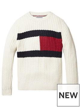 tommy-hilfiger-boys-flag-knitted-jumper