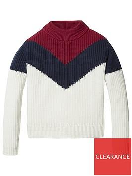 tommy-hilfiger-girls-colour-block-jumper-white