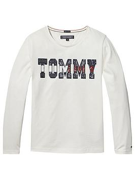 tommy-hilfiger-girls-long-sleeve-sequin-t-shirt