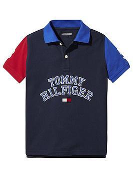 tommy-hilfiger-boys-short-sleeve-colourblock-polo