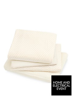 mothercare-mothercare-cotbed-starter-set-2-fitted-jersey-sheets-jersery-blanket-cellular-blanket