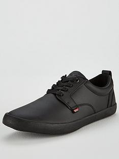 kickers-kariko-leather-gibb-lace-up-shoes-black