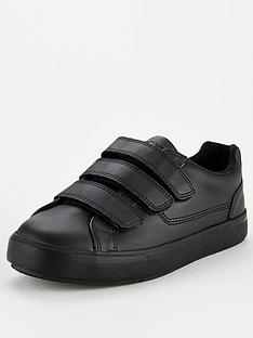 kickers-tovni-leather-strap-plimsolls--nbspblack