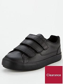 kickers-tovni-leather-strap-plimsolls--nbspblack