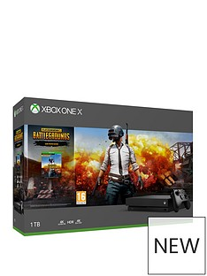 xbox-one-x-console-withnbspplayerunknowns-battlegroundsnbspplus-optional-extra-controller-andor-12-months-xbox-live-gold