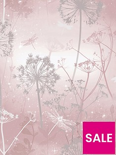 arthouse-damselfly-blush-wallpaper
