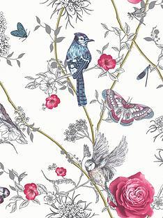 arthouse-paradise-garden-white-wallpaper