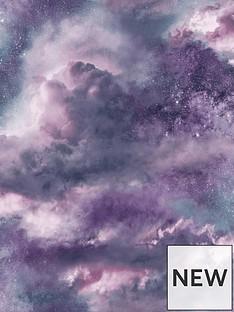 arthouse-diamond-galaxy-purple-wallpaper