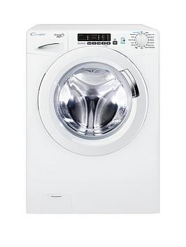 Candy Grand'O Vita Gvs169D3 9Kg Load, 1600 Spin Washing Machine With Smart Touch - White Best Price, Cheapest Prices