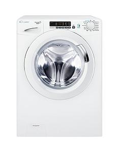 Candy Grand'O Vita GVS169D3 9kg Load, 1600 Spin Washing Machine with Smart Touch- White
