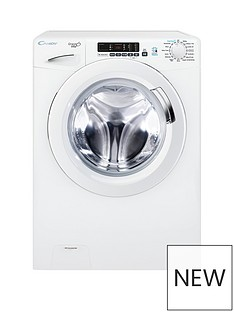 Candy Grand'OVitaGVS169D3 9kgLoad, 1600 Spin Washing Machine with Smart Touch- White
