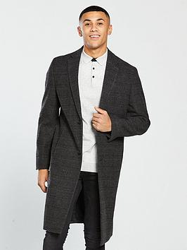 v-by-very-longline-wool-mix-coat-grey-check