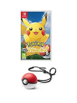 nintendo-switch-pokemon-let039s-go-pikachu-pokeball-plus-switch