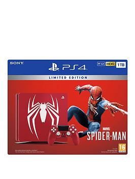 playstation-4-spider-man-limited-edition-1tb-console-bundle-with-optional-extras