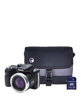 kodak-pixpro-az421-16mp-42x-zoom-black-camera-with-16gbnbspsdhc-card-amp-protective-case