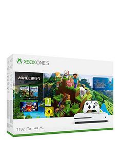 xbox-one-s-minecraft-1tb-console-bundle-with-optional-extras