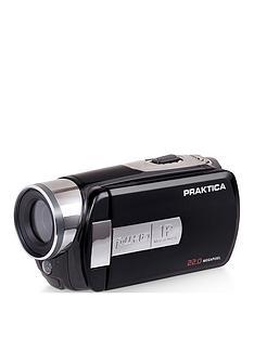 Praktica PRAKTICA Z160IR Camcorder Infra Red 16x Digital Zoom FHD WiFi App control Blue