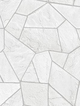 arthouse-concrete-angles-white-wallpaper