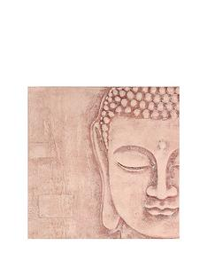 arthouse-soft-rose-gold-3d-buddha-wall-art