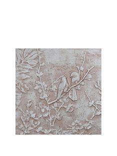 arthouse-nbspsoft-pink-glitter-3d-blossoms-and-birds-wall-art